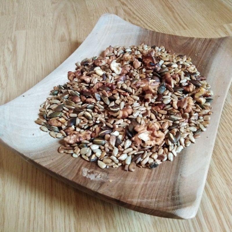 produit melange de graines et noix pour l'apero